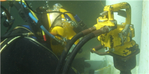 Equipment for underwater work